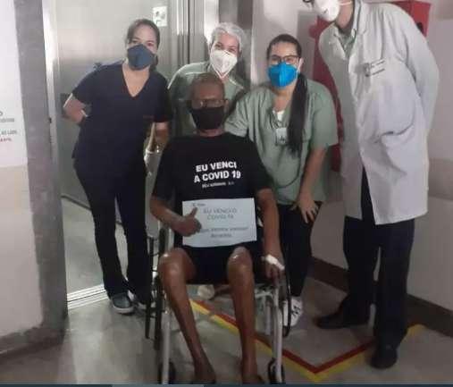 Depois de 119 dias internado e 2 intubações, Paulo é milagre em casa